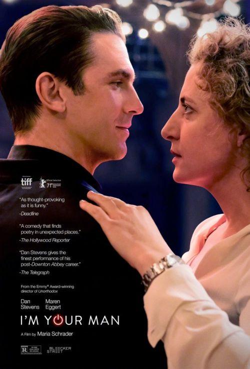 丹·史蒂文斯与玛伦·艾格特主演电影《我是你的人类》北美定档