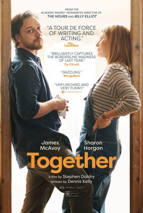 爱情电影《在一起》北美定档 詹姆斯·麦卡沃伊与莎朗·豪根主演