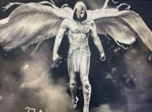 漫威超级英雄剧集《月光骑士》主角造型曝光 身披斗篷额头有月亮