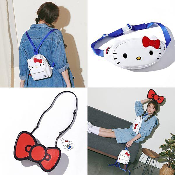 Kitty控请进!STAYREAL x三丽鸥家族联名萌力全开,蝴蝶结小包太Q了吧!