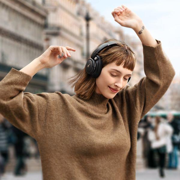 Soundcore「美型耳罩式耳机」绝美珍珠樱花粉,恋爱的颜色,连外盒都值得收藏!