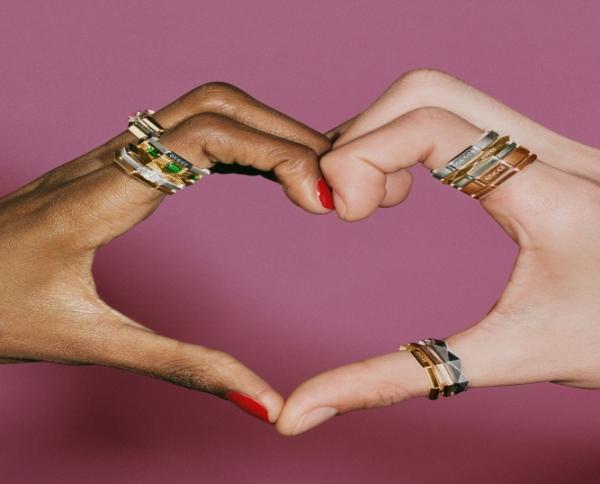 小戒指太可爱!GUCCI LINK TO LOVE系列经典珠宝系列,当情人节礼物刚刚好!
