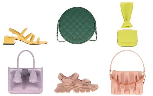 小资女指定款!CHARLES & KEITH 疗愈色水桶包、小圆饼、凉鞋 官网订送到家!