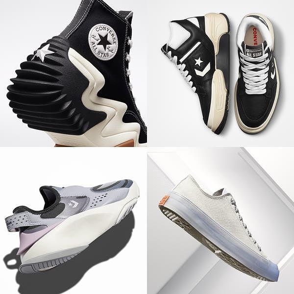 球鞋新爆款来了!CONVERSE全新CX未来系列:进化厚底鞋、All Star得列入鞋单!