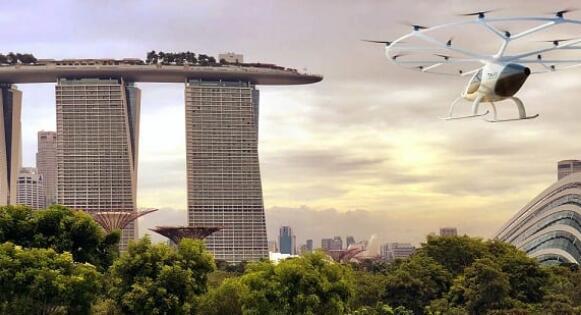 德国纯电动飞行出租车落地新加坡 将于2019年试运行