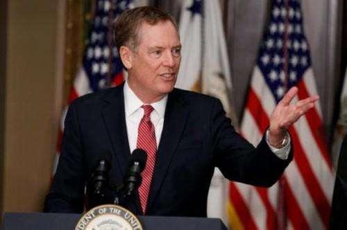 美国贸易代表莱希特:希望与欧盟、英国、日本和菲律宾开展贸易谈判