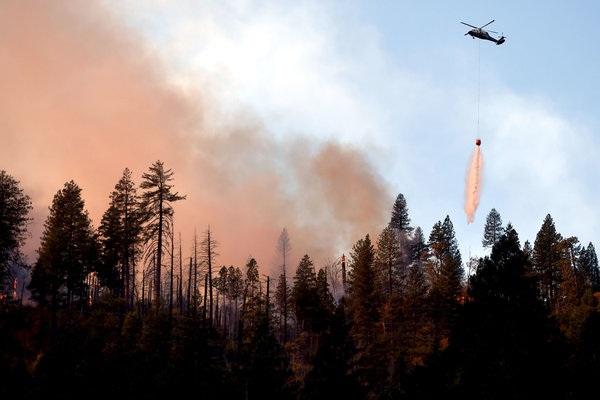 """美加州新起火点分析:气候变迁""""火上浇油"""" 造成损失超190亿美元"""