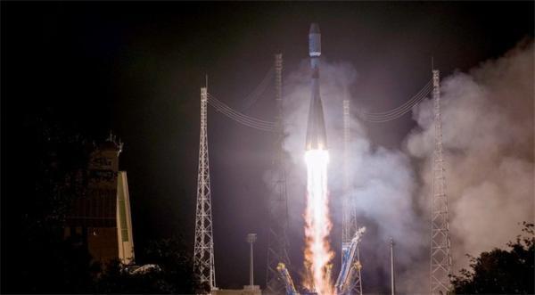 事故后的第三次成功发射:联盟号火箭搭载欧洲气象卫星升空