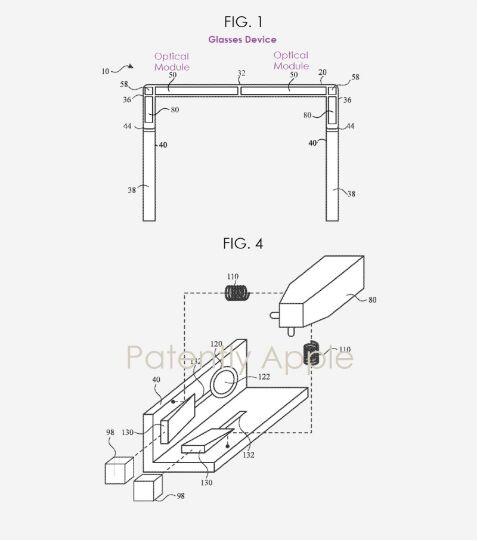 苹果新专利为智能眼镜开发光学对准系统 确保最佳增强现实视觉