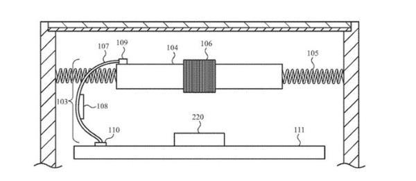 苹果Apple Watch新专利曝光:电池充当触觉反馈源 取消Taptic引擎
