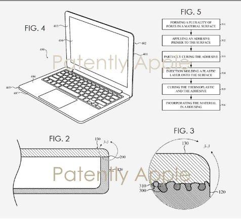 苹果申请一项新专利:MacBook外壳或采用钛材料、玻璃或聚合物