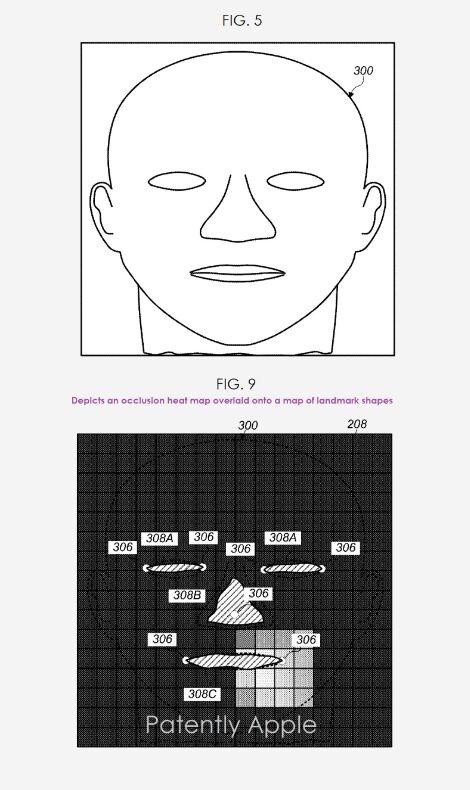 苹果获得面部热成像技术专利,让Face ID解锁不惧遮挡