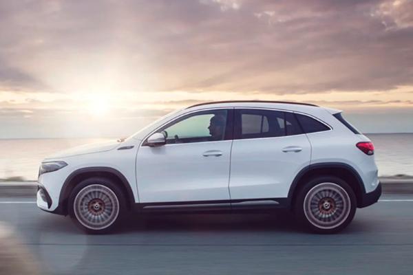 奔驰纯电SUV—EQA正式全球首发 续航超400km