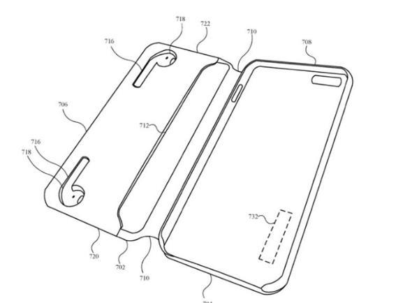 苹果获得2项新专利!未来iPhone手机壳就能给AirPods充电