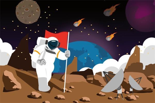 """太空""""侦探""""!NASA训练AI发现数十个火星陨石坑 5秒内可识别新暗斑"""