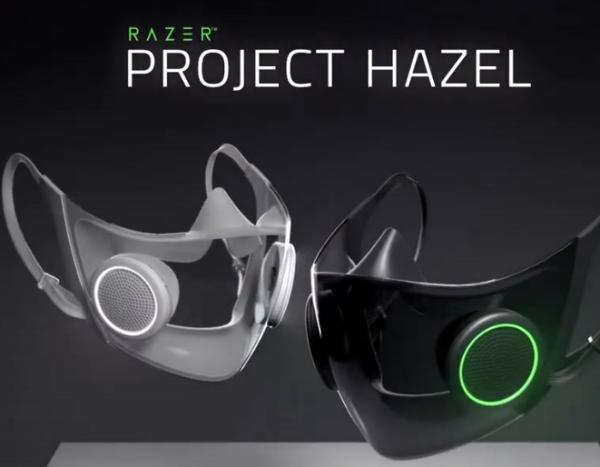 安全又炫酷!雷蛇推出N95透明智能口罩,佩戴者可自定义颜色