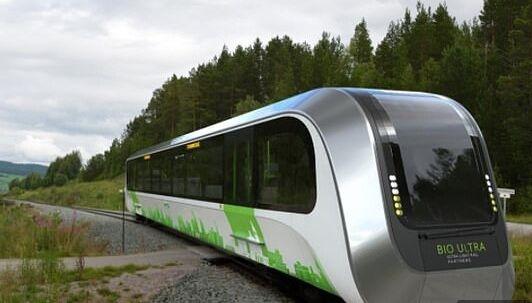 人类粪便变废为宝!英国研发出生物甲烷驱动小火车 时速50英里可载120人