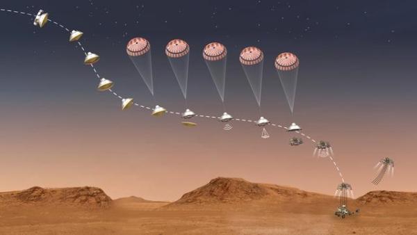 """倒计时9天!美国""""毅力号""""尝试以超音速着陆火星,将传回首个地外视频片段"""