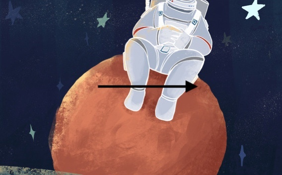 激动!天问一号探测器进入火星轨道 预计今年5月至6月择机着陆火星