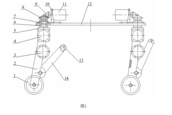 中国矿业大学公布矿用变胞机器人专利 轮腿混合驱动大幅提升越障能力