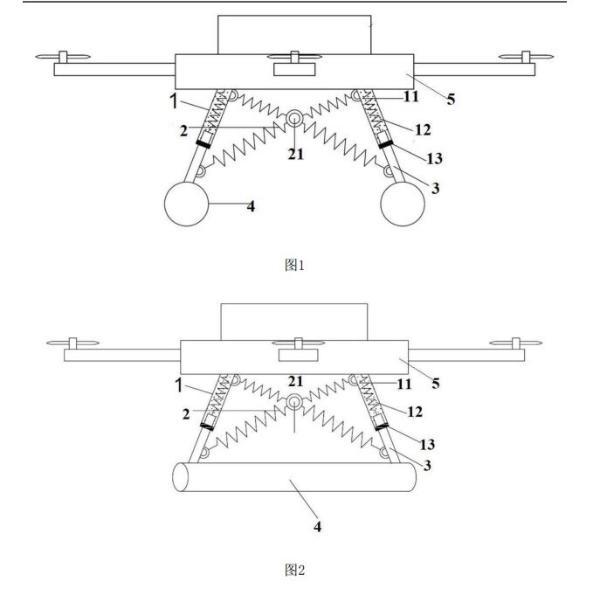 复旦大学公开无人机减震相关专利 再也不怕着陆强震动损坏精密器材