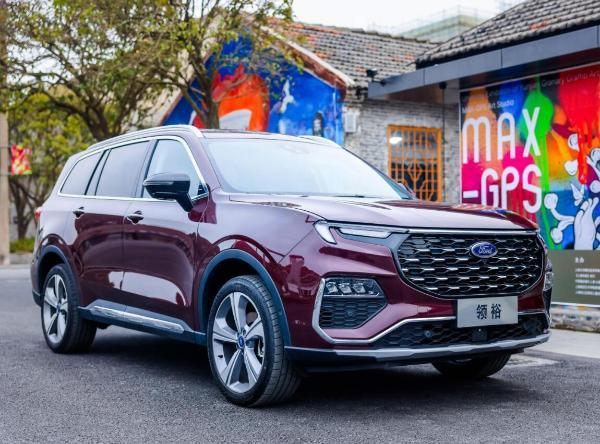 尺寸超汉兰达 江铃福特全新SUV领裕将于2021年上半年上市
