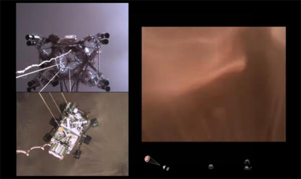 """惊叹!NASA公布毅力号火星车着陆视频,以第一视角还原""""恐怖七分钟"""""""