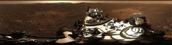 """美国""""毅力""""号传回火星高清全景图,这才是火星最真实的样貌"""