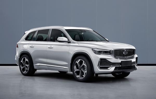 吉利全新中型SUV KX11工信部申报图曝光 上海车展首发