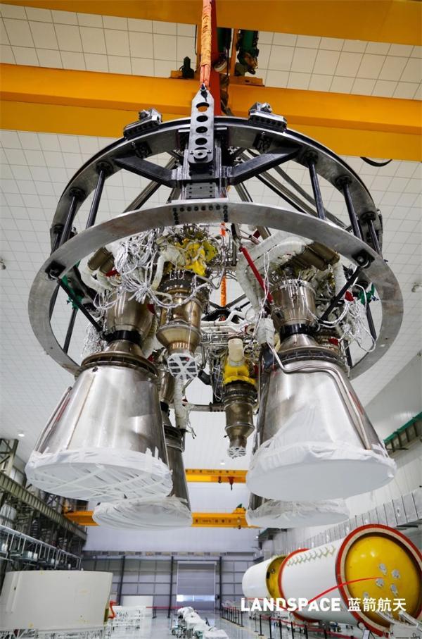 """朱雀二号火箭一级发动机总装完成,蓝箭航天或成中国""""SpaceX"""""""