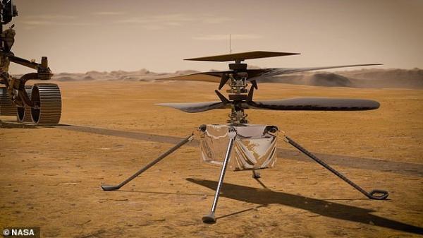 """美国""""毅力号""""携带莱特兄弟首架飞机碎片登陆火星,人类飞机将在另一星球起飞"""