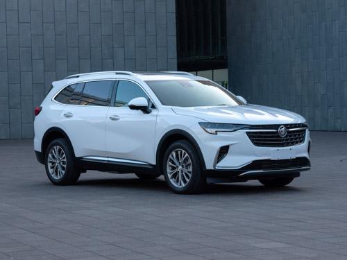 别克全新7座中型SUV申报图 或为昂科威加长版