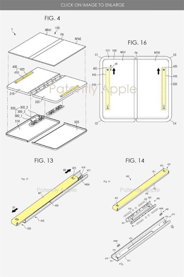 三星公布折叠屏防摔专利,或应用于Galaxy Z Fold