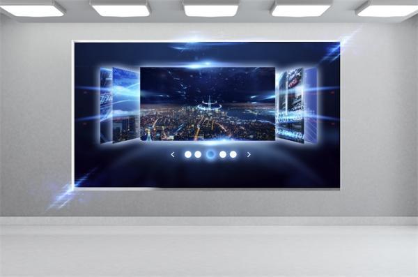 """世界第一台可折叠电视问世!它可以""""闯入""""地板 轻而易举 165寸大屏幕冲击力强"""