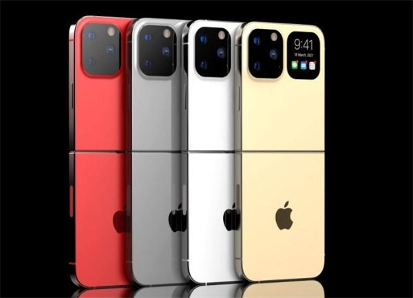 苹果折叠手机iPhone Flip曝光,预计2023年发布