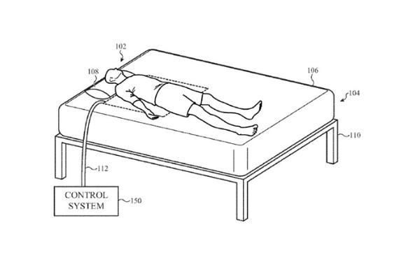 苹果公开智能床垫专利实现无谓觉醒