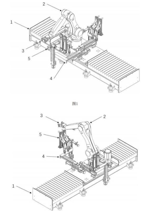灵活!西安交通大学公开自动加油机器人专利:移动基座,六轴机械臂