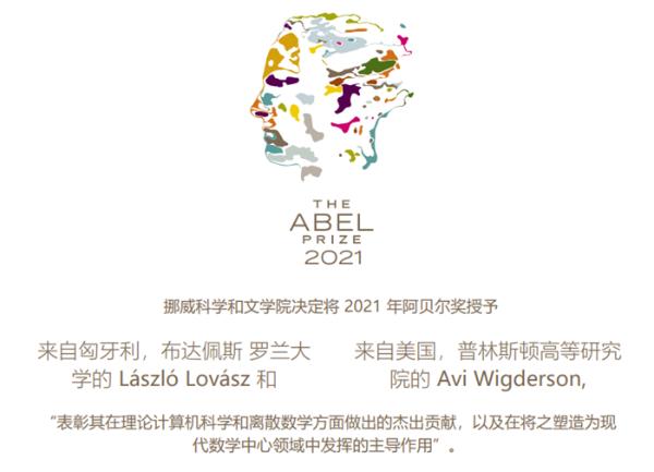 2021年阿贝尔奖公布!理论计算机科学和离散数学领域学者获奖
