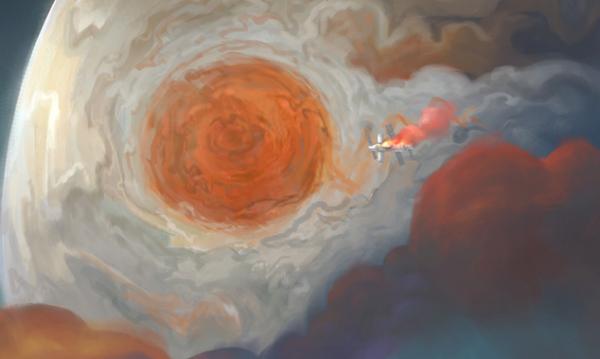 1450km/h!天文学家首次直接测量木星中层大气风暴