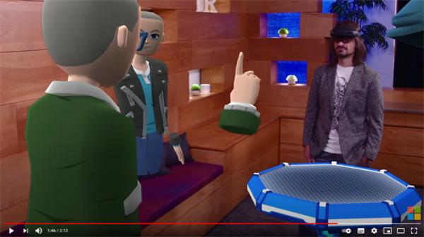 现实阿凡达?微软公布Mesh平台,打造虚拟未来