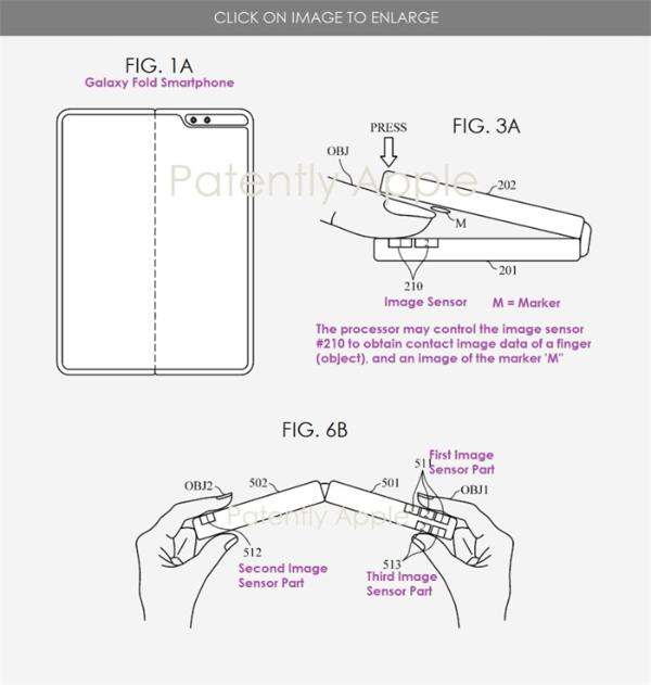 新专利曝光!三星Galaxy Fold未来或添加高级生物识别传感器,可测量血压