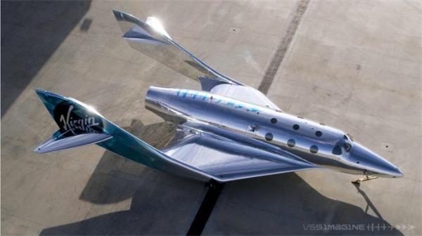 科幻感十足!维珍银河下一代太空飞机可反射环境,不断改变颜色和外观
