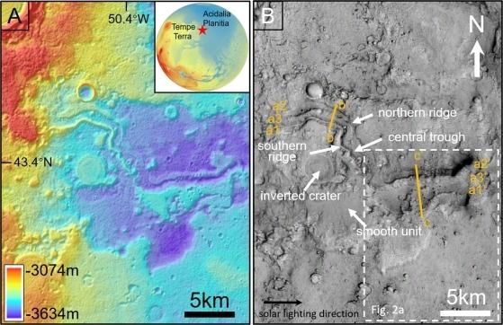 火星上不仅有水,曾经还有河流