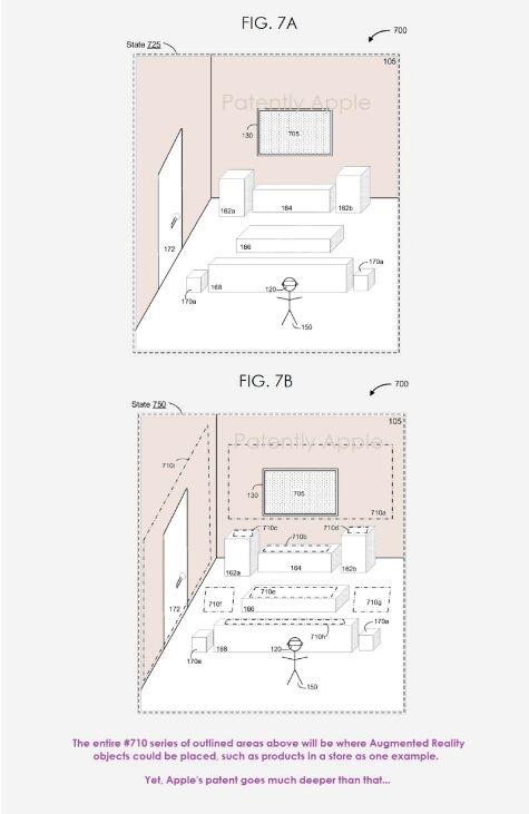 苹果新专利公布一项AR系统 合成网格地图布局下一代娱乐体验