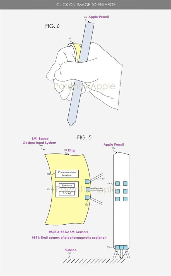 苹果智能戒指新专利可搭配Apple Pencil使用,或用于AR/VR产品