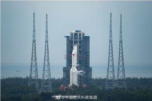激动!空间站天和核心舱将于今日发射:箭在弦上,直指苍穹