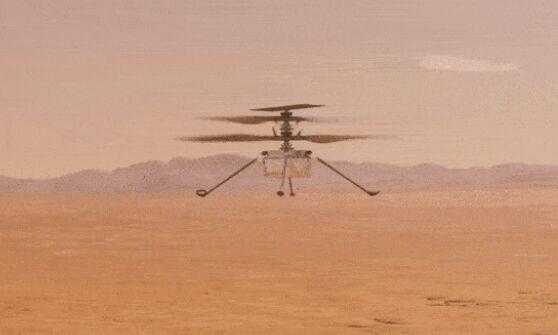 """更大胆!""""机智号""""第二次在火星起飞:离地5米高 首次侧移2米"""