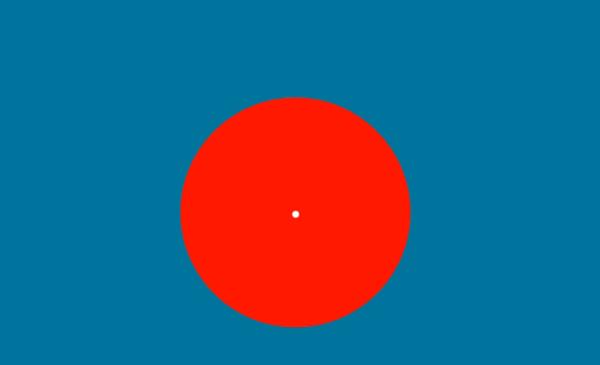 盯着这个大红圈30秒,你将看到从未见过的颜色!据说99%的人都会出错
