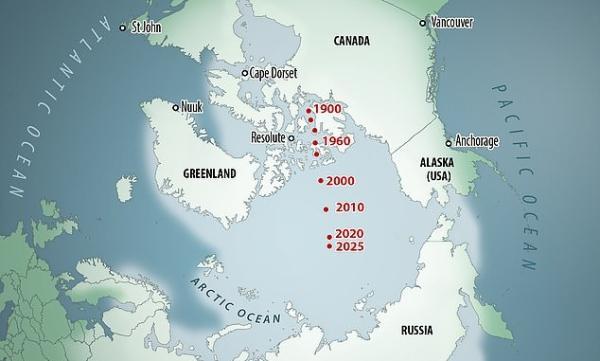 """极地冰层融化太快了,吓得地球磁极连夜""""跑路"""""""
