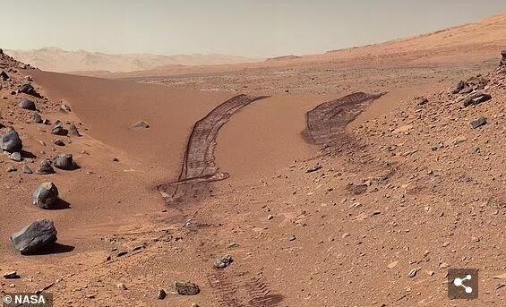 """重磅!NASA""""好奇号""""或在火星土壤中找到有机盐 代表火星曾宜居存在生命"""